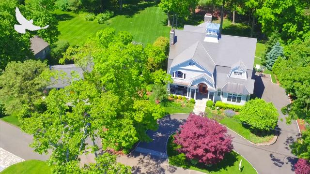 Sneak Peek Inside View From Above:  134 Five Mile River Road