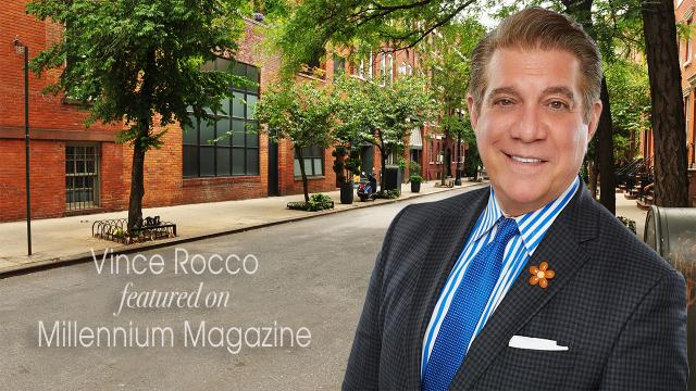 Vince Rocco featured on Millennium Magazine