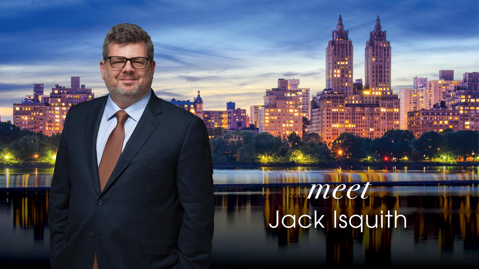 Meet Jack Isquith