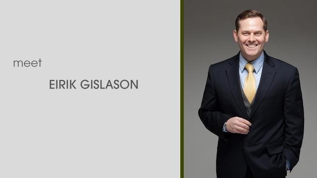 Eirik Gislason: Integrity, Trust, Knowledge and Experience