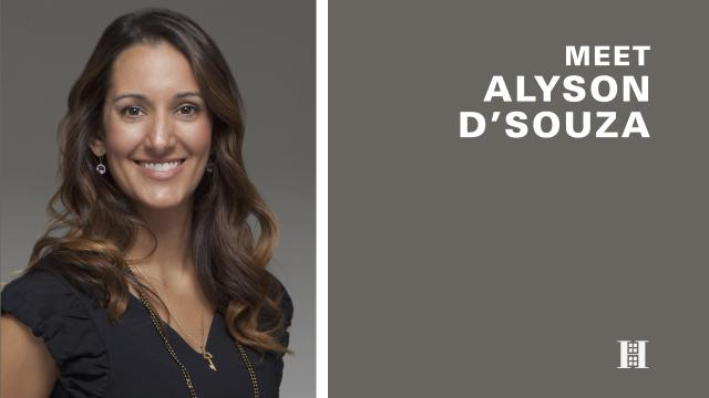 Alyson D'Souza: An Authentic, Approachable Broker