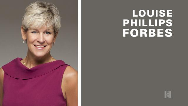 Louise Phillips Forbes: Far Beyond A Broker