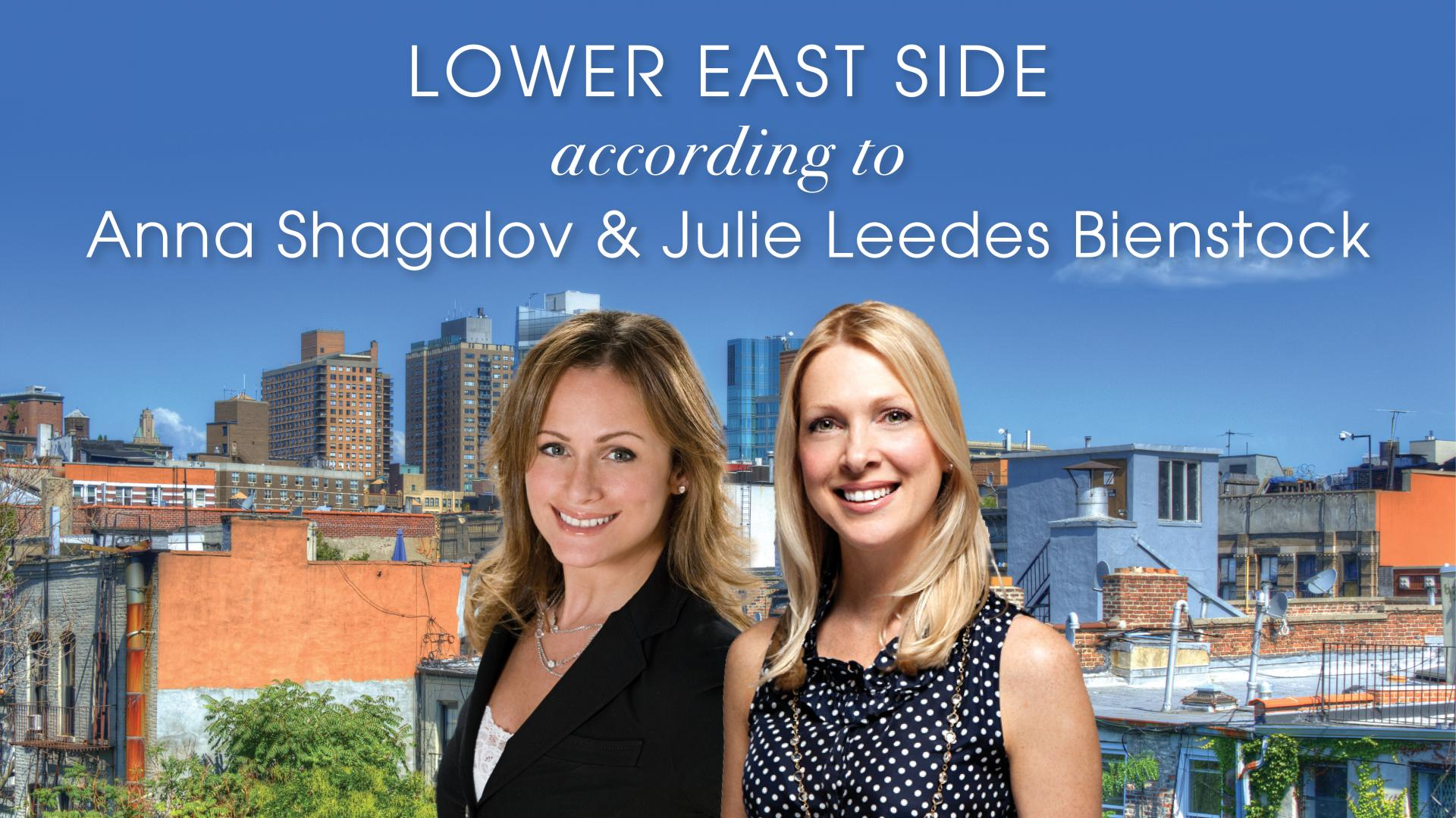 Lower East Side Tour with Julie Leedes Bienstock and Anna Shagalov
